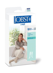 JOBST soSOFT KNEE 8-15 mmHg RIBBED