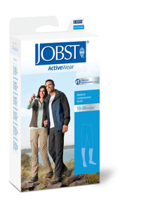 JOBST® ACTIVEWEAR KNEE HIGH COMPRESSION SOCK 15-20mmHg