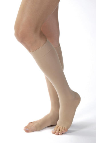 JOBST® OPAQUE KNEE HIGH 15-20mmHg OPEN TOE