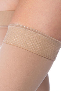 RELIEF THIGH 30-40 CLOSED TOE SILICONE