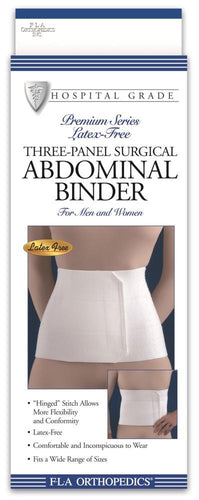 THREE-PANEL SURGICAL ABDOMINAL BINDER 9