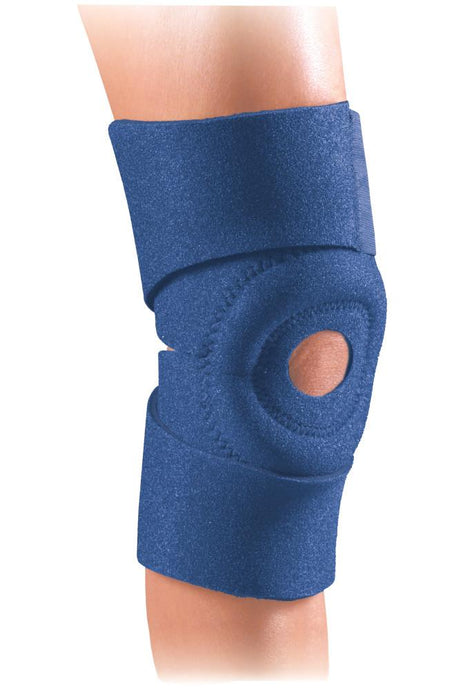 SAFE-T-SPORT EZ-ON KNEE WRAP NAVY
