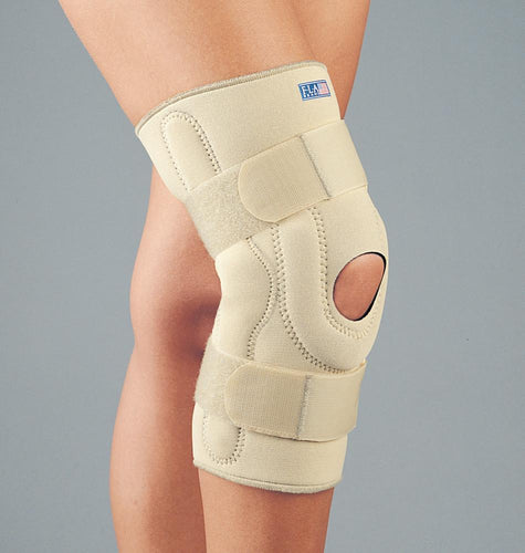NEOPRENE STABILIZING KNEE BRACE W/COMPOSITE