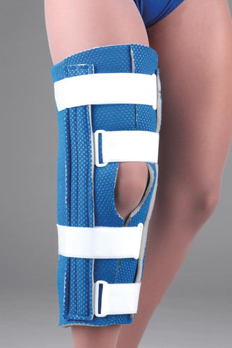 FLA - BREATHABLE UNIVERSAL CUTAWAY KNEE IMMOBILIZER  UN