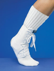 MCDAVID ANKLE GUARD W/OPTIONAL INSERTS WHITE