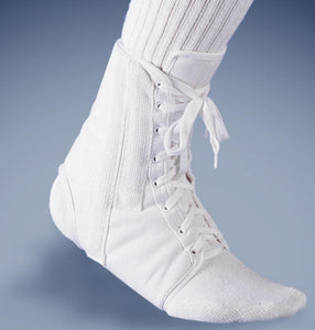 FLA Orthopedics - Canvas Lace-up Ankle Brace