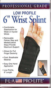 "PRO•LITE 6"" LOW PROFILE WRIST SPLINT"