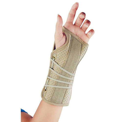 SOFT FIT SUEDE FINISH WRIST BRACE