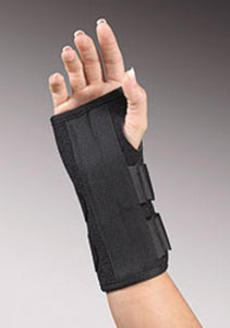 "UNI•FIT 8"" WRIST SPLINT BLACK"