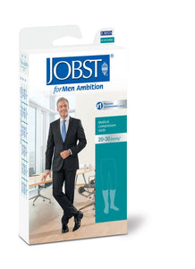 JOBST® FOR MEN AMBITION SOFTFIT KNEE 20-30mmHg