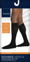 SIGVARIS Mens DAILY COMFORT 850 Calf 20 30mmHg