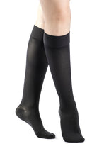 SIGVARIS Womens SELECT COMFORT 860 Calf with Grip Top 20 30mmHg