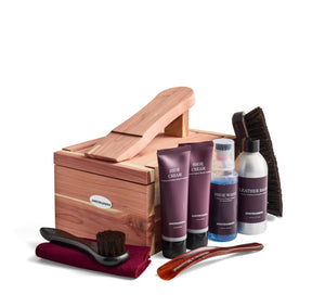 JOHNSTON&MURPHY Cedar Shoe Care Kit