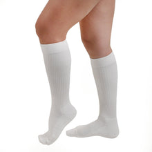Salvere Cushion Wear, Knee High Unisex Cushion Sole Socks, Closed Toe, 20-30 mmHg