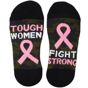 Tough Women Fight Strong Ankle Socks