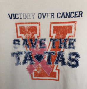 Save the Tatas Victory T-Shirt