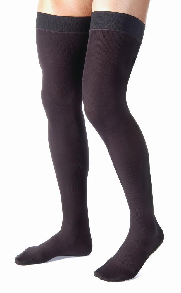 Jobst for Men | Thigh High Compression Stockings | Closed Toe | 30-40 mmHg