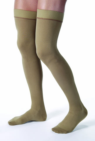 Jobst for Men | Thigh High Compression Stockings | Closed Toe | 20-30 mmHg