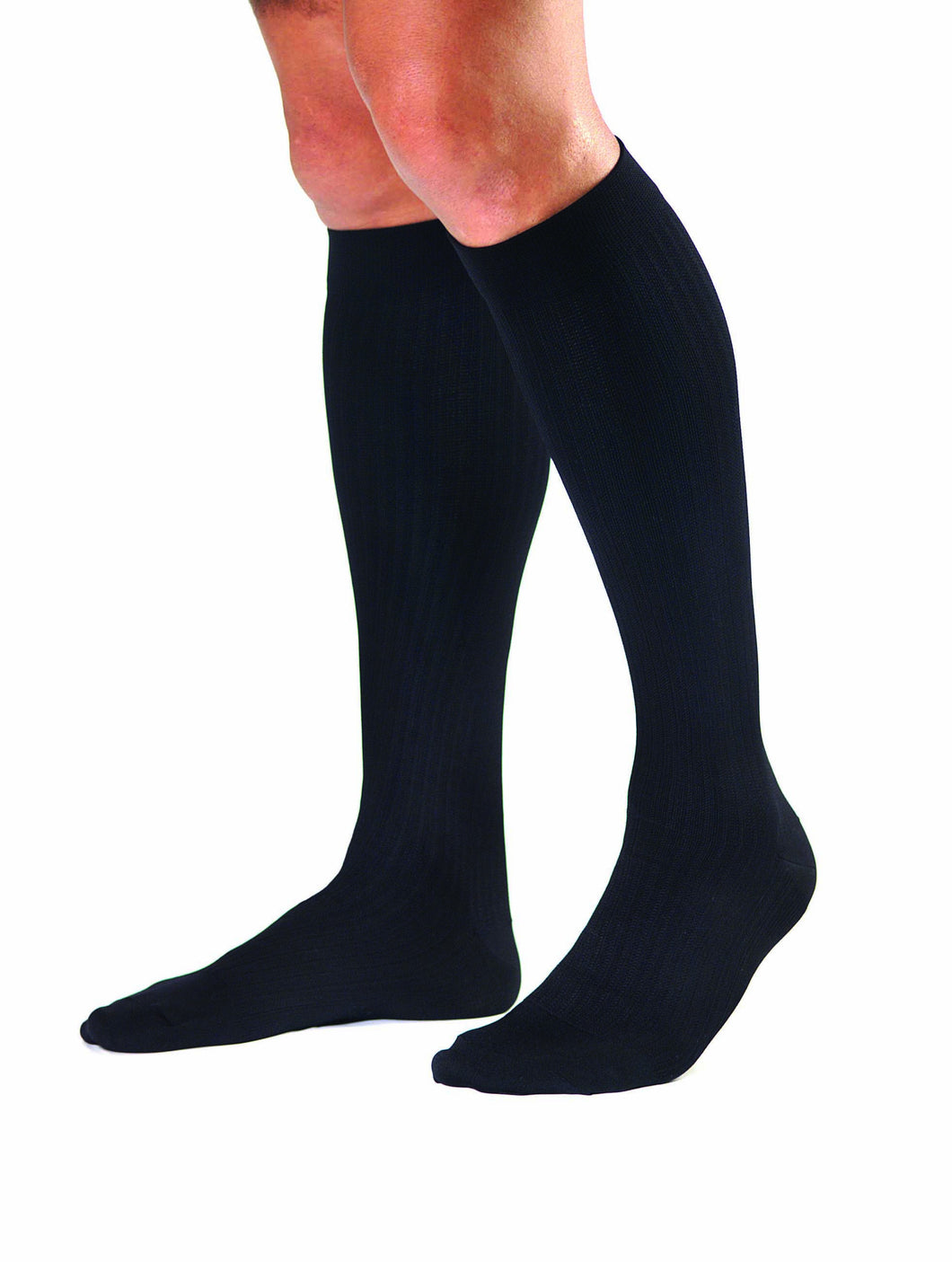 Jobst Men's Dress | Knee High Socks | Closed Toe | 8-15 mmHg