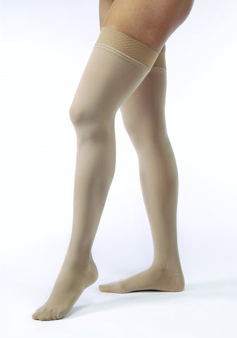 Opaque | Thigh High Compression Stockings | Closed Toe | 30-40 mmHg