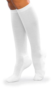 Cushioned Cotton | Compression Socks | Men and Women | Closed Toe | 15-20 mmHg