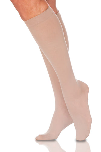 EverSheer | Calf High Compression Stockings | Closed Toe | 15-20 mmHg