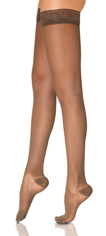EverSheer | Thigh High Compression Stockings | Closed Toe | 15-20 mmHg