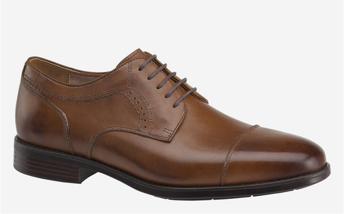 men's waterproof  tan dress shoe