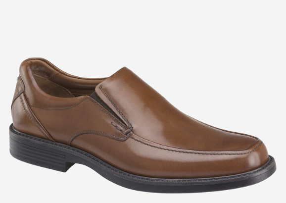 men's johnston & murphy tan loafer