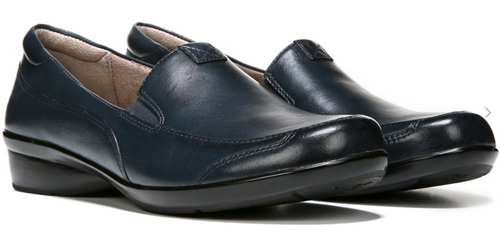 Naturalizer Channing Navy Leather Loafer
