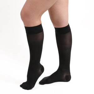 Salvere Simply Sheer, Knee High, Closed Toe, 15-20 mmHg
