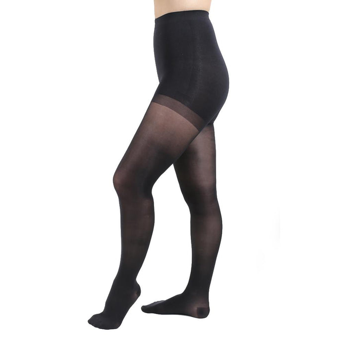 Salvere Simply Sheer, Pantyhose, Closed Toe, 15-20 mmHg