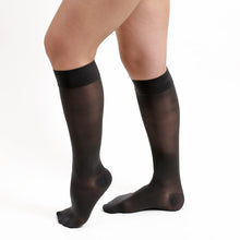 Salvere Simply Sheer, Women's Knee High, Closed Toe, 20-30 mmHg