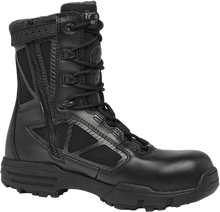 BLACK COMPOSITE TOE WORK BOOT