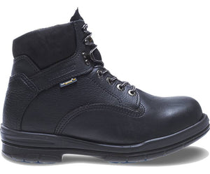 "WOLVERINE DURASHOCKS SR STEEL-TOE DIRECT-ATTACH 6"" WORK BOOT"