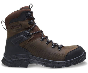 "WOLVERINE MEN'S GLACIER XTREME INSULATED WATERPROOF CARBONMAX 8"" BOOT"