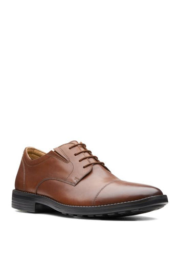 men's dark tan oxford shoes