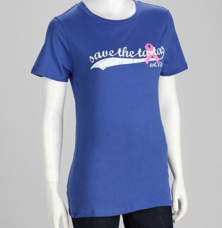 Save the Tatas Blue Women's T-Shirt