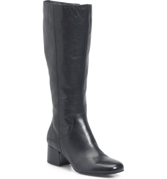 Born women's tall boot with block heel