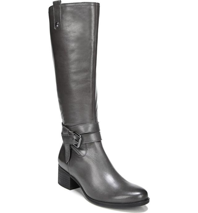 women's tall black boots
