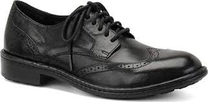 men's born black dress shoes