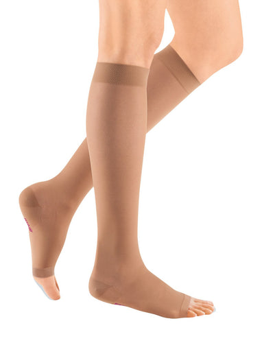 mediven sheer & soft, 30-40 mmHg, Calf High, Open Toe