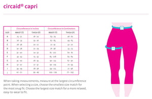 Circaid Capri Compression Garment