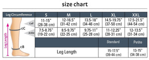 duomed advantage, 15-20 mmHg, Calf High, Open Toe