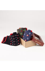 JOHNSTON&MURPHY Holiday Sock Box