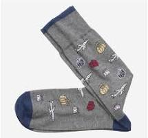 JOHNSTON&MURPHY Pima Cotton Travel Sock