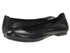 born women's black flats