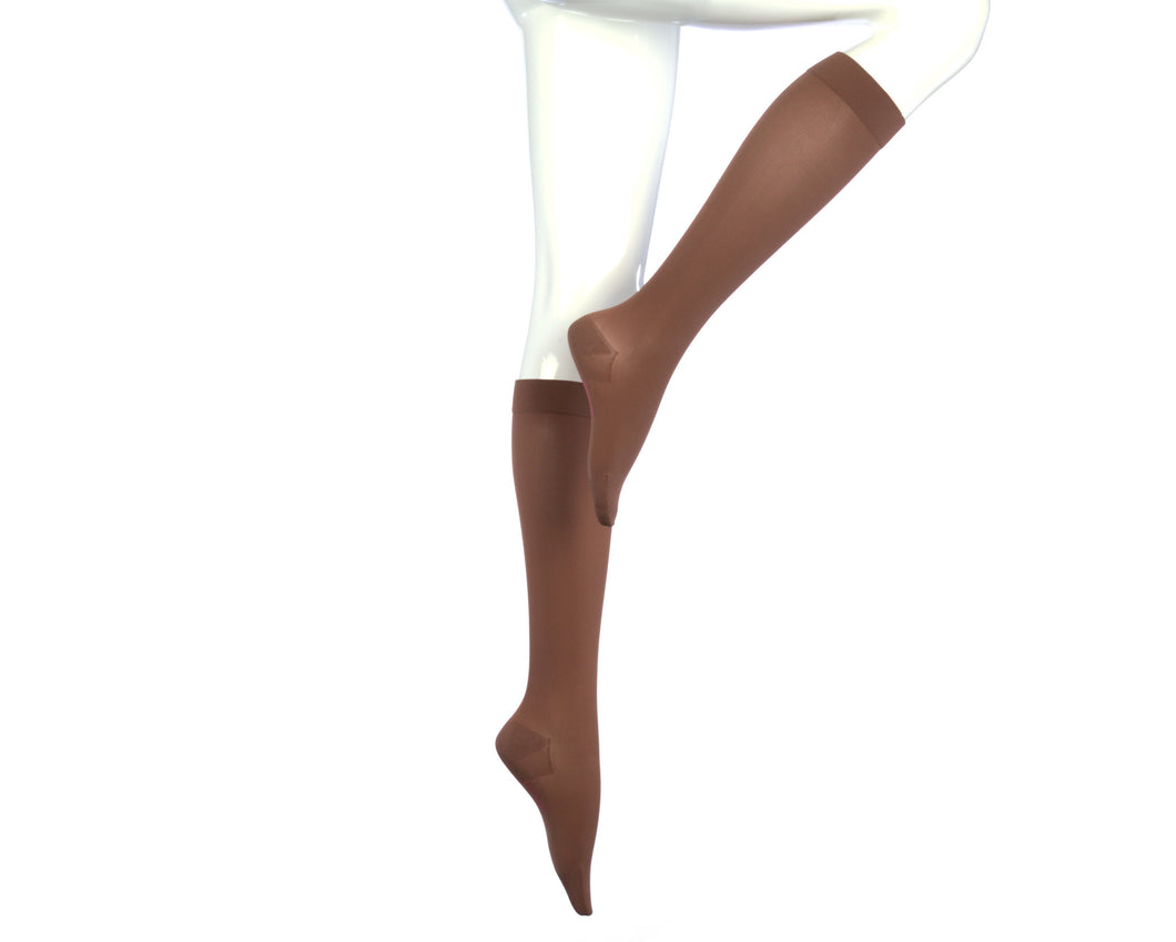 Medi Comfort | Calf High Compression Stockings | Extra Wide | Closed Toe | 20-30 mmHg
