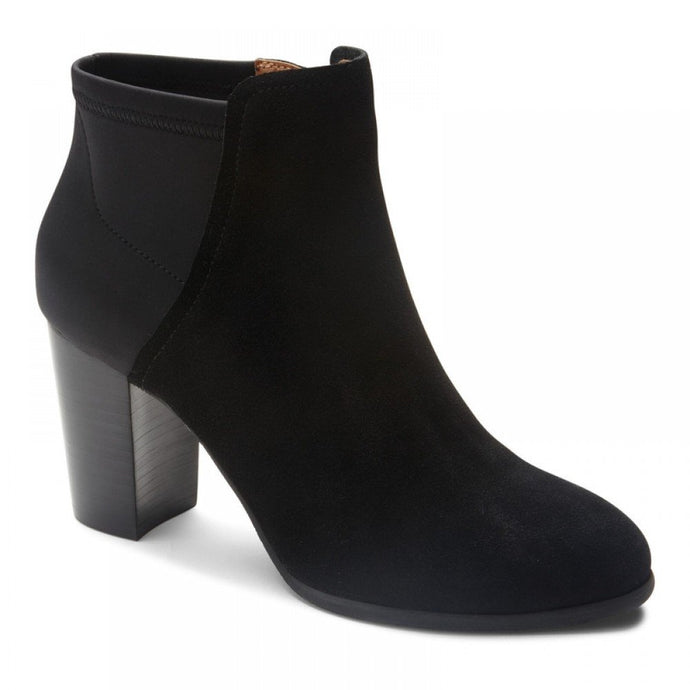 Vionic Whitney Black Ankle Boot