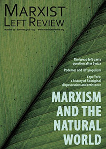 Marxist Left Review #11